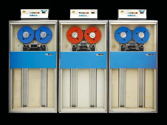 IBM 360_tape drives