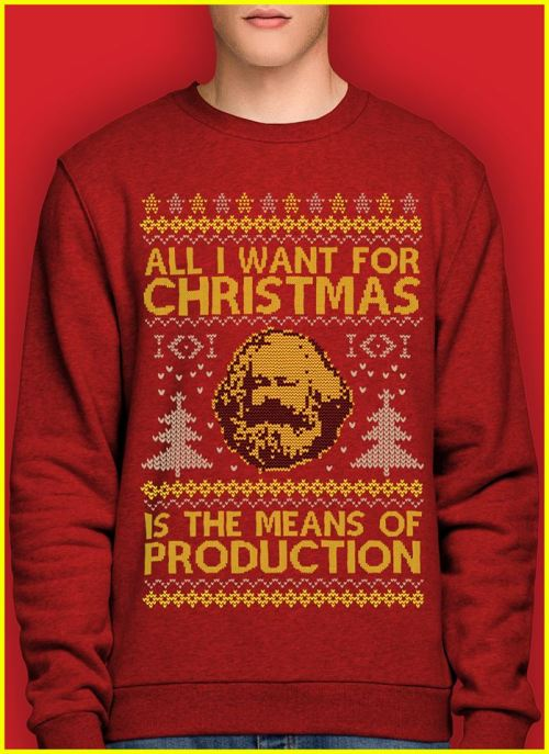 Xmas Means of Production - People's tee