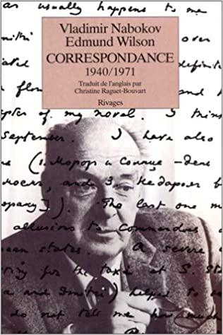 Correspondance avec Edmund Wilson (Vladimir Nabokov)